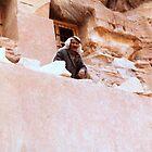 bedouin in Petra by cometkatt