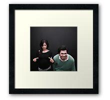 The Combo. Framed Print