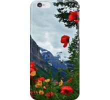 Peaks and Poppies iPhone Case/Skin