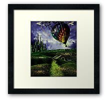 Leaving Oz Framed Print