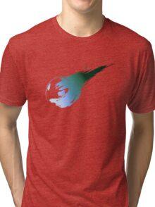 Final Fantasy 7 logo VII Tri-blend T-Shirt