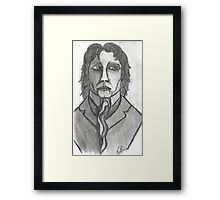 THE DISTINGUISED COMPOSER Framed Print