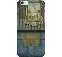 Faith, security and superstition iPhone Case/Skin