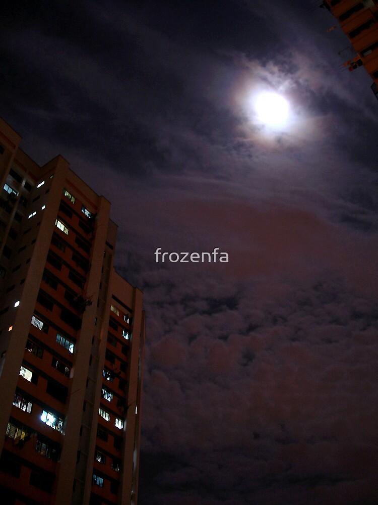 Moonwatch (print) by frozenfa