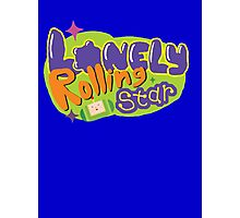 Lonely Rolling Star Photographic Print