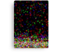 the pixels escape Canvas Print