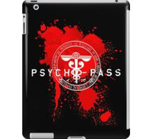 Psycho-Pass Logo iPad Case/Skin