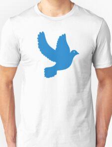 Blue peace dove T-Shirt