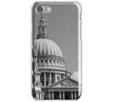 St Paul's From Fleet Street iPhone Case/Skin