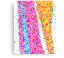 pixel dance Canvas Print