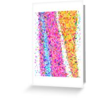 pixel dance Greeting Card