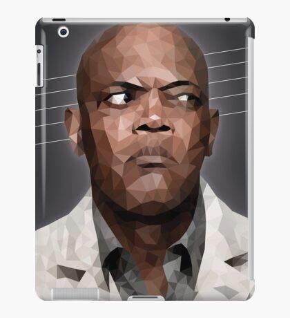 Samuel L. Jackson Polyart iPad Case/Skin