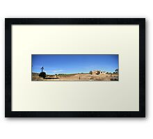 Bush Winery Framed Print