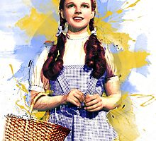 Dorothy Wizard of Oz by MissClaraBow