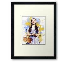 Dorothy Wizard of Oz Framed Print