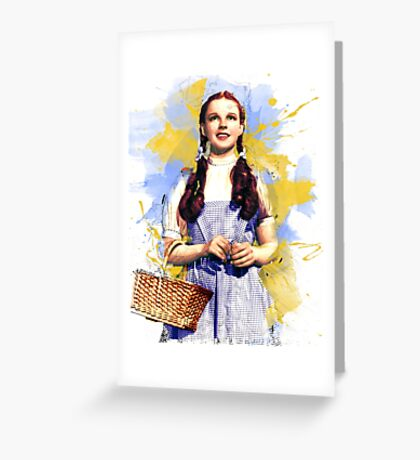 Dorothy Wizard of Oz Greeting Card