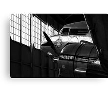 Flight Preparations Canvas Print
