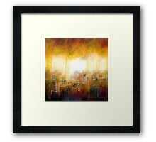 It might be there Framed Print
