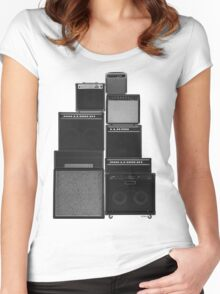 the great wall of LOUD Women's Fitted Scoop T-Shirt