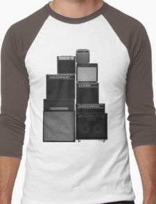 the great wall of LOUD Men's Baseball ¾ T-Shirt