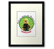 Lego-Las Framed Print