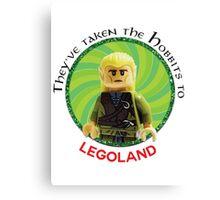 Lego-Las Canvas Print