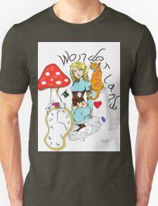 Alice in Wonderland Inspired Piece Unisex T-Shirt
