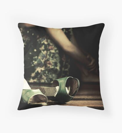 Uncomfortable Throw Pillow