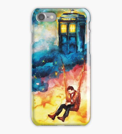The Man Who Lived On A Cloud - Doctor Who iPhone Case/Skin