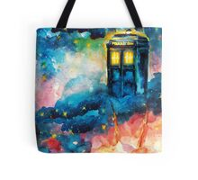 The Man Who Lived On A Cloud - Doctor Who Tote Bag
