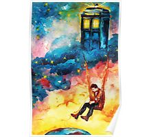 The Man Who Lived On A Cloud - Doctor Who Poster