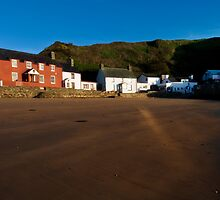 Porthdinllaen at Dawn by Alan E Taylor