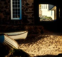 Porthdinllaen Boats by Alan E Taylor