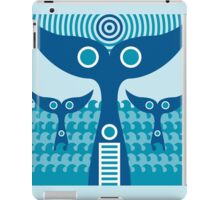 whale tails iPad Case/Skin