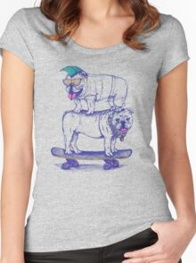 Double Dog Dare Women's Fitted Scoop T-Shirt