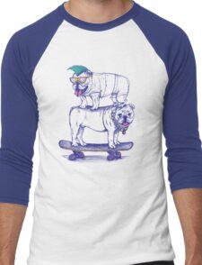Double Dog Dare Men's Baseball ¾ T-Shirt