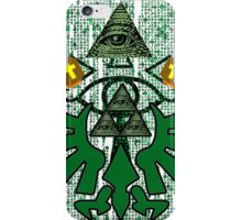 ZELDA ILLUMINATI TRIFORCE iPhone Case/Skin