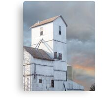 Elevator on the Plains Canvas Print