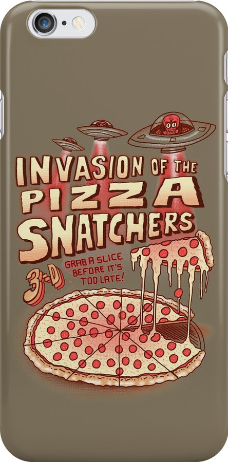 Invasion of the Pizza Snatchers by SteveOramA