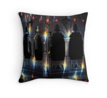 Imagine a Preist giving a sermon !!! Throw Pillow
