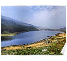 Twin Lakes HDR Poster