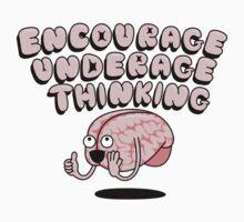 Encourage Underage Thinking Kids Clothes
