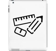 Ruler Pen Eraser iPad Case/Skin