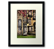 Greyfriars Kirk Framed Print