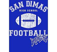 San Dimas High School Football Rules Photographic Print