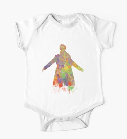 Sherlock Holmes Watercolour Splash One Piece - Short Sleeve