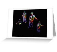 Hula Dance Greeting Card