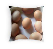 Get Cracking Throw Pillow