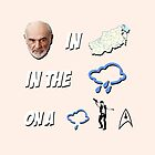 Sean Connery, in Vyshny Volochyok, in the Rain, on a Drizzly Solo Trek - Cabin Pressure - Arthur Shappey by MYCROFTOFFICE