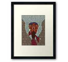 Conjuring the Dragon Framed Print